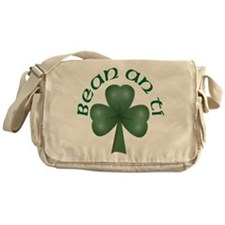 Woman of the House (Gaelic) Messenger Bag