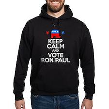 Keep Calm Vote Ron Paul Hoodie