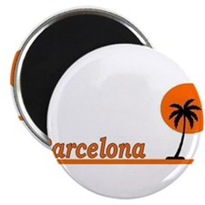 """Cute Tropical places 2.25"""" Magnet (100 pack)"""