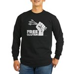Free Gluten Long Sleeve Dark T-Shirt
