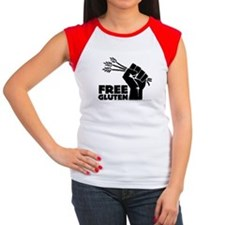 Free Gluten Women's Cap Sleeve T-Shirt