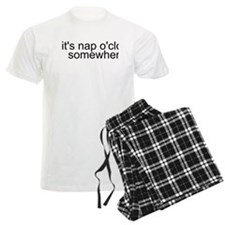 It's Nap O'clock Somewhere Pajamas