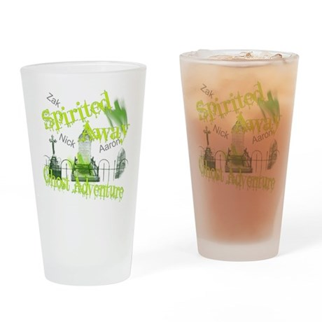 Ghost Adventures Drinking Glass
