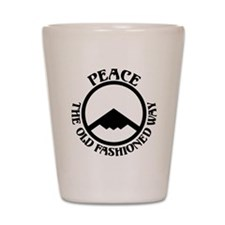 Peace with Stealth Shot Glass