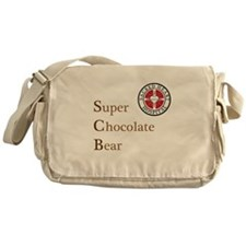 SCB Super Chocolate Bear Messenger Bag