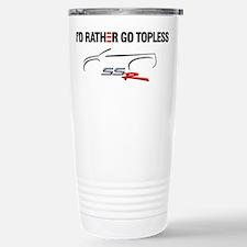 I'd Rather Go Topless Travel Mug