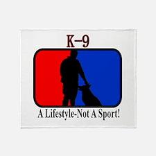 K9 Lifestyle Throw Blanket