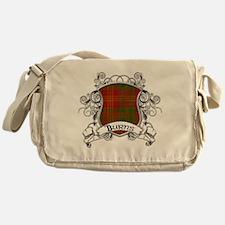 Burns Tartan Shield Messenger Bag