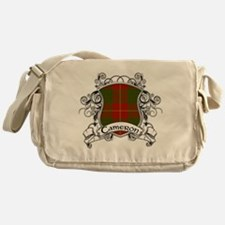 Cameron Tartan Shield Messenger Bag