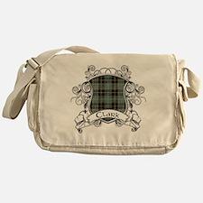 Clark Tartan Shield Messenger Bag
