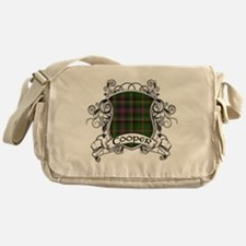 Cooper Tartan Shield Messenger Bag