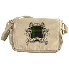Gordon Tartan Shield Messenger Bag