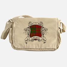 Grant Tartan Shield Messenger Bag