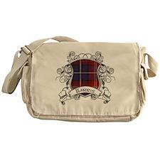 Harris Tartan Shield Messenger Bag