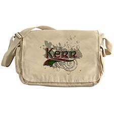 Kerr Tartan Grunge Messenger Bag