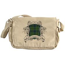 Marshall Tartan Shield Messenger Bag
