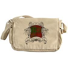 Stewart Tartan Shield Messenger Bag