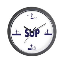 it's SUP time Wall Clock