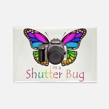 Shutter Bug Rectangle Magnet