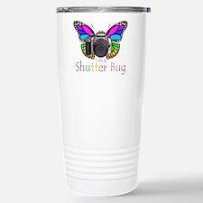 Shutter Bug Stainless Steel Travel Mug