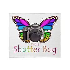 Shutter Bug Throw Blanket