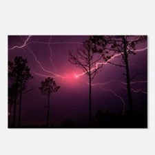 Red Lightning, Cape Fear, NC Postcards (Package of