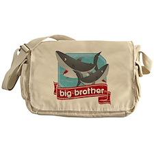 Big Brother Shark Messenger Bag