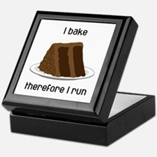 Chocolate Cake Keepsake Box