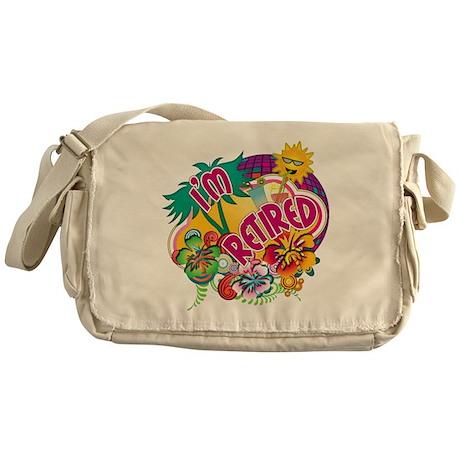 Tropical Retirement Messenger Bag