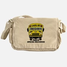 School Bus Driver Messenger Bag