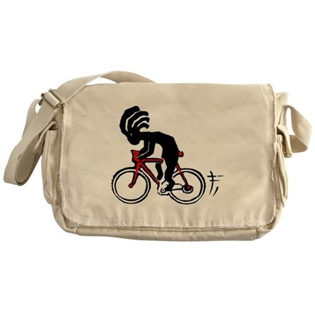 Kokopelli Bicycle Messenger Bag