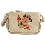 Squid Cards Messenger Bag