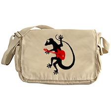 Gecko Guitar Messenger Bag