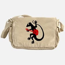 Gecko Guitar Messenger Bag