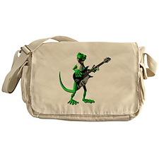 Electric Guitar Gecko Messenger Bag