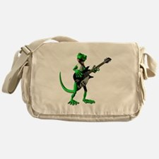 Electric Guitar Gecko Messenger Bag