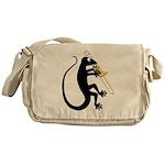 Gecko Trombone Messenger Bag