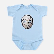 ghoulie mask Infant Bodysuit