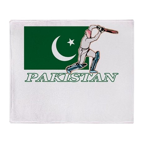 Pakistani Cricket Player Throw Blanket