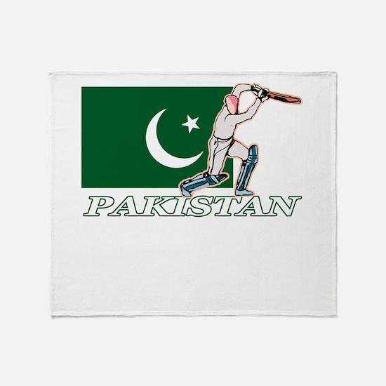 Pakistani Cricket Player Throw Blanket