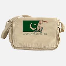 Pakistani Cricket Player Messenger Bag