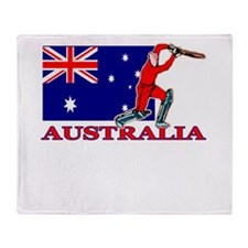 Australia Cricket Player Throw Blanket