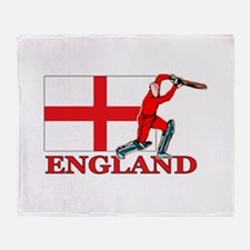 English Cricket Player Throw Blanket