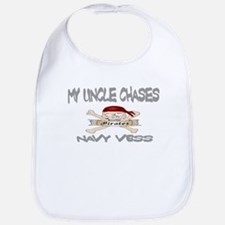 Navy Uncle Bib