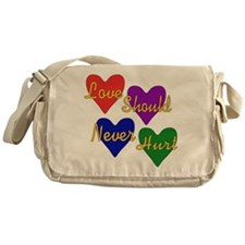 End Domestic Violence Messenger Bag
