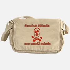 Small Sexist Minds Messenger Bag