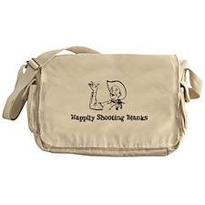 Happily Shooting Blanks Messenger Bag