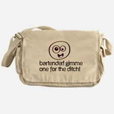 One For The Ditch Messenger Bag