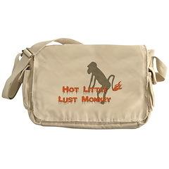 Lust Monkey Messenger Bag