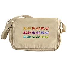 Blah Blah Blah Messenger Bag
